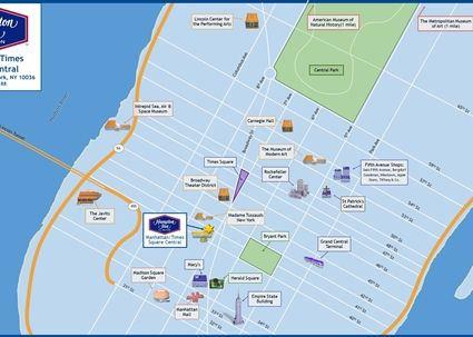 時代廣場中心歡朋酒店(Hampton Inn Times Square Central)其他