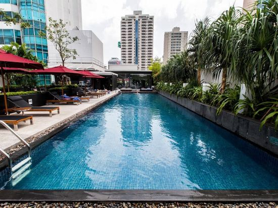 曼谷18街麗亭酒店(Park Plaza Bangkok Soi 18)室外游泳池
