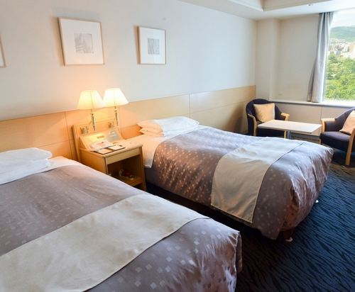 札幌公園飯店(Sapporo Park Hotel)高級雙床房
