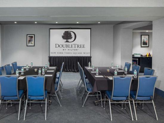 紐約時代廣場西希爾頓逸林酒店(Doubletree by Hilton New York Times Square West)會議室