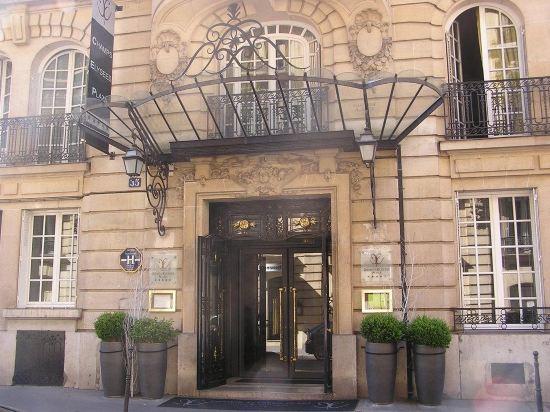 巴黎香謝麗舍廣場酒店(Hotel Champs Elysees Plaza Paris)外觀