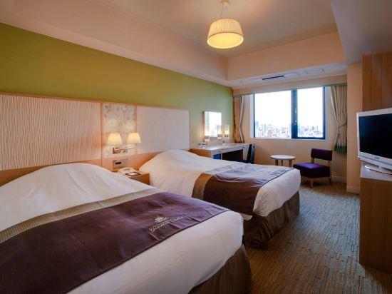 大阪蒙特利格拉斯米爾酒店(Hotel Monterey Grasmere Osaka)城景標準雙床房