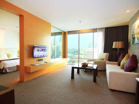 曼谷斯瓦特爾酒店(Sivatel Bangkok)豪華一卧室套房