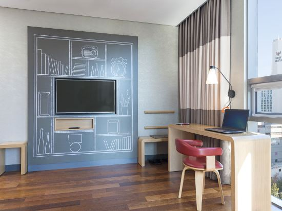 宜必思大使釜山城市中心酒店(Ibis Ambassador Busan City Centre)豪華房(帶一張大床)