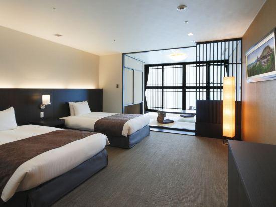 京都塔酒店(Kyoto Tower Hotel)和洋式房