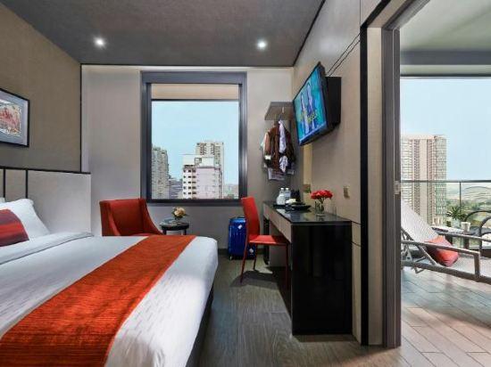 新加坡莊家大酒店(Hotel Boss Singapore)尊貴房(帶陽台)