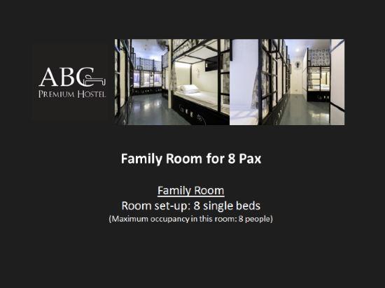 新加坡ABC高級旅舍(ABC Premium Hostel Singapore)家庭房