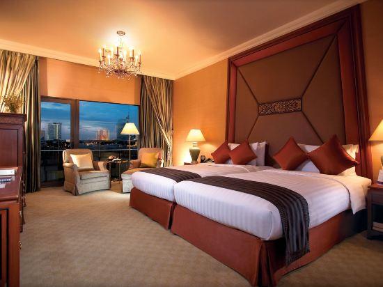 曼谷香格里拉酒店(Shangri-La Hotel Bangkok)曼谷樓曼谷豪華陽台房