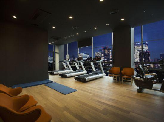 釜山索拉利亞西鐵酒店(Solaria Nishitetsu Hotel Busan)健身房