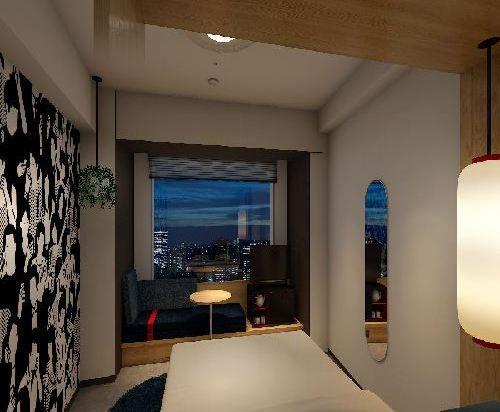 品川王子大飯店(Shinagawa Prince Hotel)附屬塔樓高層大床房