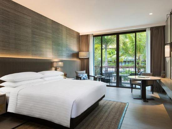 普吉島萬豪奈陽海灘水療度假村(Phuket Marriott Resort and Spa, Nai Yang Beach)豪華園景房