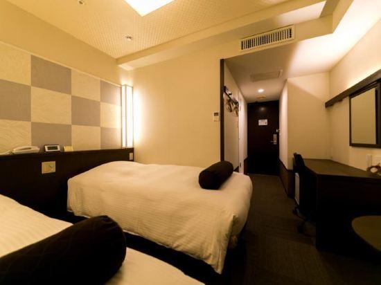 東京新宿新麗飯店(Hotel Sunlite Shinjuku Tokyo)客房(雙床_副樓)-可吸煙