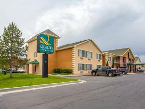 鹽湖城機場西品質酒店及套房(Quality Inn & Suites Airport West Salt Lake City)