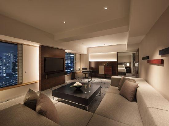 東京希爾頓酒店(Hilton Tokyo)塔樓行政套房 國王大床