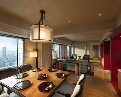 大阪希爾頓酒店(Hilton Osaka Hotel)總統套房