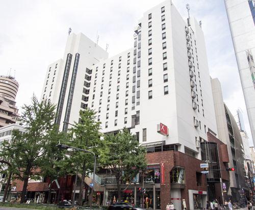 大阪十字酒店(Cross Hotel Osaka)外觀