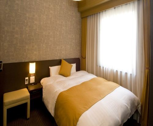 花螢之湯京都站前多米豪華酒店(Hotel Dormy Inn Premium Kyotoekimae)雙人房