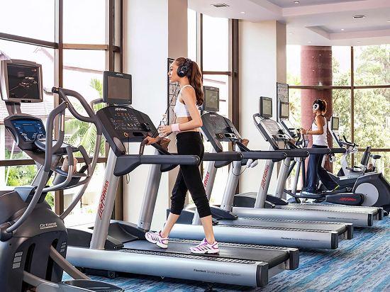 鉑爾曼芭堤雅酒店(Pullman Pattaya Hotel G)健身房