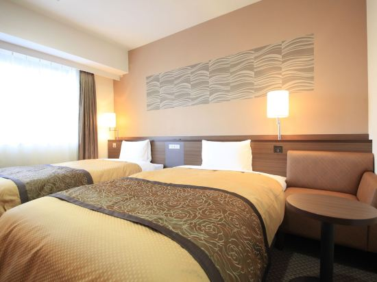 Vessel Inn酒店-札幌中島公園(Vessel Inn Sapporo Nakajima Park)豪華雙床房