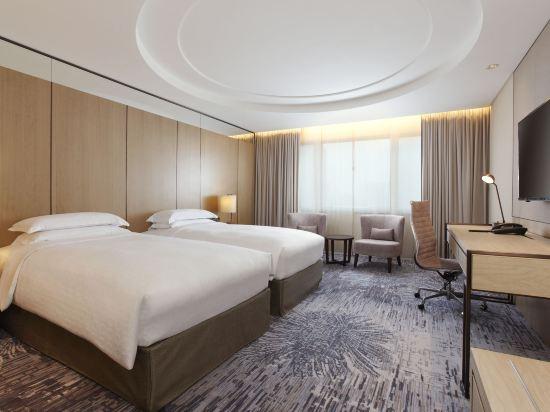台北喜來登大飯店(Sheraton Grand Taipei Hotel)豪華雙床房