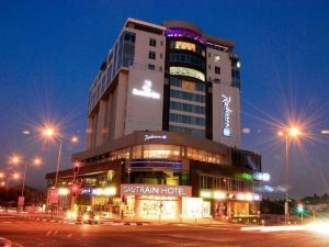 約翰內斯堡桑頓高特雷恩麗笙酒店(Radisson Blu Gautrain Hotel, Sandton Johannesburg)