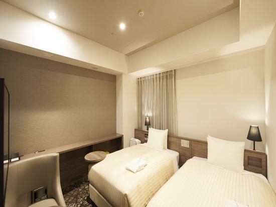 東京相鐵弗雷薩旅店銀座七丁目酒店(Sotetsu Fresa Inn Ginza-Nanachome)雙床房