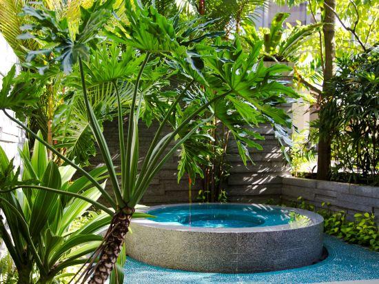 新加坡君悦酒店(Grand Hyatt Singapore)室外游泳池