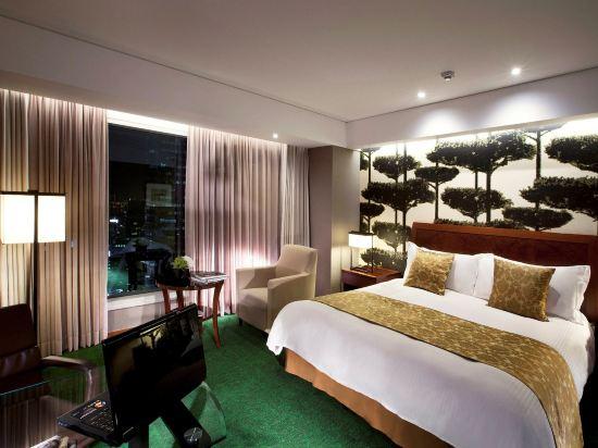 首爾世貿中心洲際酒店(InterContinental Seoul COEX)俱樂部高級房