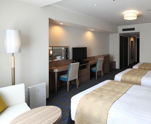 東京東急澀谷卓越大飯店(Shibuya Excel Hotel Tokyu Tokyo)標準三人房