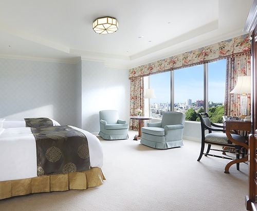 東京椿山莊大酒店(Hotel Chinzanso Tokyo)尊貴雙床套房