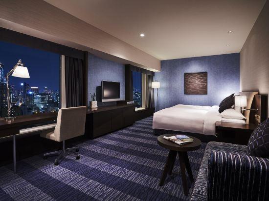 大阪麗嘉皇家酒店(Rihga Royal Hotel)塔翼-自然舒適樓層-豪華雙床房