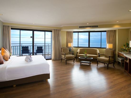 皇家華欣海灘度假酒店(The Imperial Hua Hin Beach Resort)海景尊貴房-帶陽台