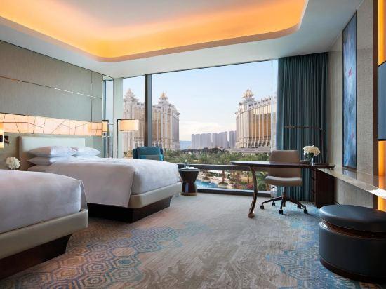 澳門JW萬豪酒店(JW Marriott Hotel Macau)豪華雙床客房