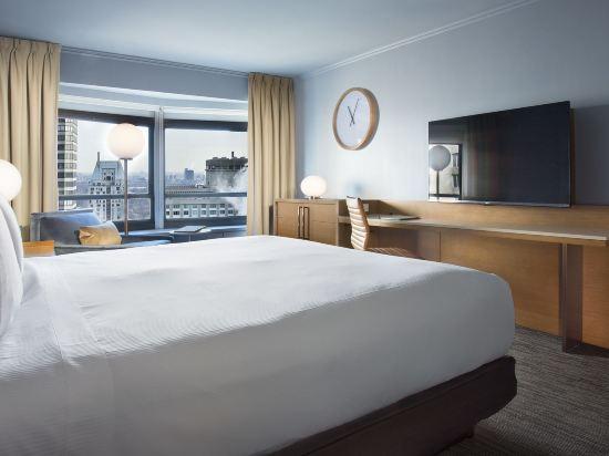紐約市中心希爾頓酒店(New York Hilton Midtown)城市大床房