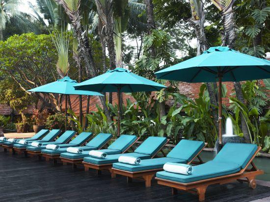曼谷河畔安納塔拉度假酒店(Anantara Riverside Bangkok Resort)室外游泳池