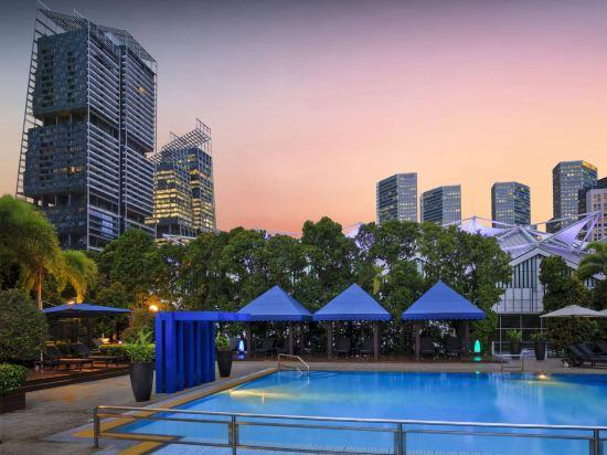 新加坡濱華大酒店(Marina Mandarin Singapore)室外游泳池