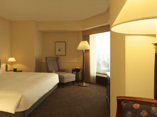 東京凱悅酒店(Hyatt Regency Tokyo)景觀豪華轉角特大床房