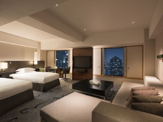 東京希爾頓酒店(Hilton Tokyo)小型行政套房 雙床房