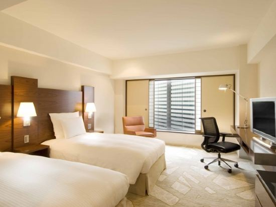 東京希爾頓酒店(Hilton Tokyo)希爾頓雙床房or大床房(一人入住)
