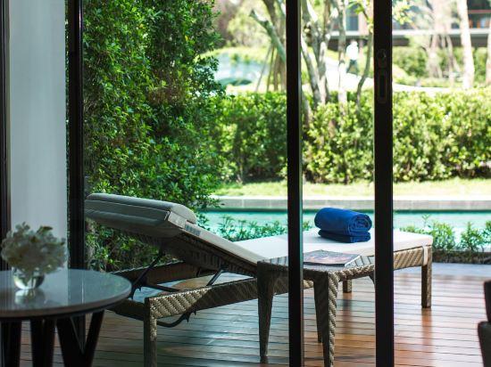 華欣萬豪水療度假村(Hua Hin Marriott Resort & Spa)豪華房(直通泳池)