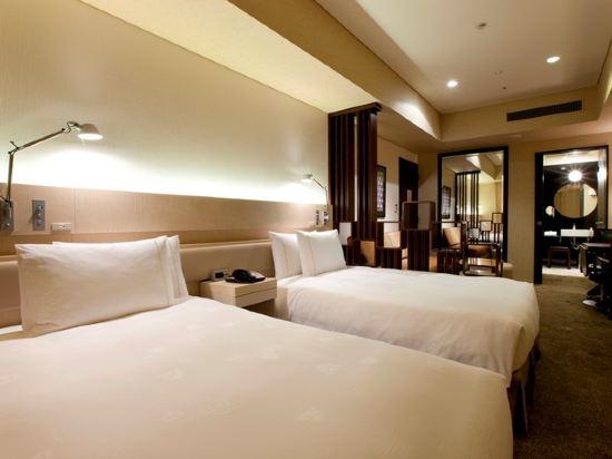 東京汐留皇家花園酒店(The Royal Park Hotel Tokyo Shiodome)高級雙床房(標準樓層)