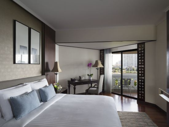 曼谷河畔安納塔拉度假酒店(Anantara Riverside Bangkok Resort)豪華河景房
