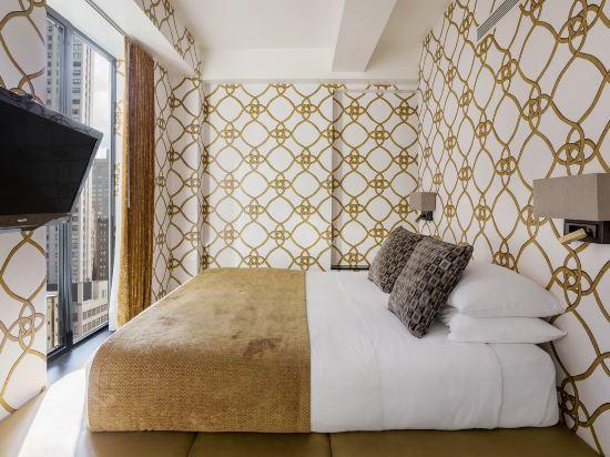 紐約優雅精品室友酒店(Room Mate Grace Boutique Hotel New York)特大床房