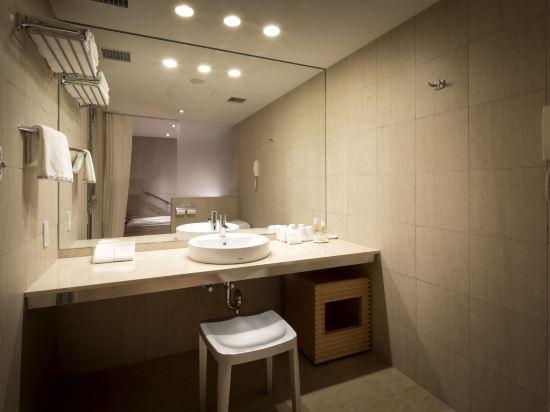 札幌格蘭大酒店(Sapporo Grand Hotel)主樓健康豪華雙床房