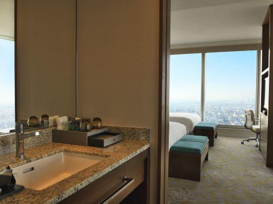 大阪萬豪酒店(Osaka Marriott Miyako Hotel)至尊轉角兩張雙人床房