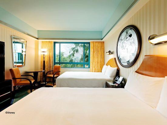 迪士尼好萊塢酒店(Disney's Hollywood Hotel)標準房, 2 張雙人床