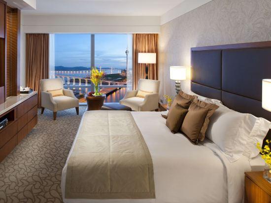 澳門文華東方酒店(Mandarin Oriental Macau)豪華湖景客房