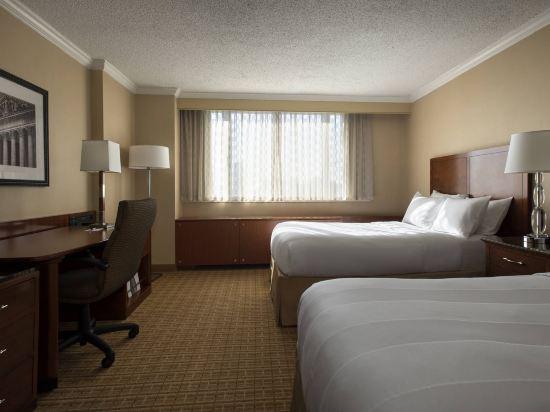 紐約市中心萬豪酒店(New York Marriott Downtown)豪華房