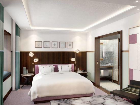 首爾艾美酒店(原,首爾麗思卡爾頓酒店)(Le Meridien Seoul)城景經典特大床房