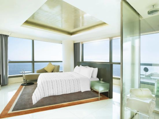 香港數碼港艾美酒店(Le Méridien Cyberport)海灣尊貴套房